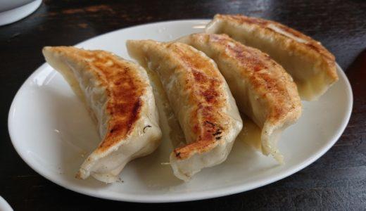 「東京三大ジャンボ餃子」銀座「天龍」で食べる大満足餃子